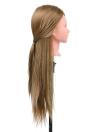 Cabeza de entrenamiento de la peluquería del salón Modelo femenino del maniquí de la práctica del pelo largo