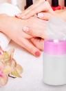 Distributeur de pompe à bouteille en plastique de 60 ml Verre à ongles vide Épicure à ongles Maquillage Nettoyant Nail Art Tool