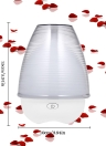 Aromatherapy Essential Oil Diffuser Ultrasonic Aroma Humidifier 7 Colors LED Lights Changing Auto Shut-Off Home Office