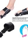 1pc Bunion Splint Adjustable Big Toe Corrector Hallux Valgus Straightener Foot Pain Relief Orthopedic Foot Care Tool