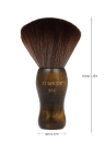 KUDOUSHI  Professional Largr Hair Cutting Neck Duster Wooden Handle Brush