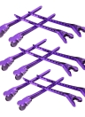 12Pcs Hair Clips Steel Flat Metal Single Prong Alligator Hair Clips Barrette for Bows DIY Accessories Hairpins