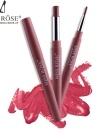 MISS ROSE 2 in 1 Lip Liner Pen Waterproof Colorful Silk Smooth Lipstick Pen Pencil Stretch Lip Brush Tool Lip Makeup