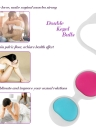 Anself Vaginal Ball Silicone Kegel Ball Koro Ball Vagina Tight Exercise Vaginal Dumbbell Beads Vaginal Balls Trainer Waterproof 4 Balls Adult Sex Toy for Woman
