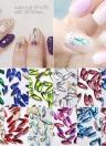 12pcs Nail Art Water Droplets Drill DIY Jewelry Accessories Shiny Decorator