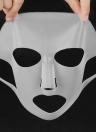 1Pc Capa de máscara de silicone reutilizável Máscara facial hidratante de silicone Máscara multifuncional para máscara de folha Evite a evaporação com laços de ouvido anti-escorregadio