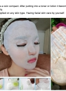 40Pcs Compressed Facial Mask Women's Cotton DIY Mask Natural Skin Care Compressed Mask Beauty Facial Compress Masque