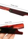 Pieghevole pettine per capelli Spazzola per capelli portatile da viaggio Pettine per capelli Plastica Pieghevole Districante Spazzola per capelli antistatica