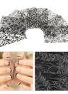8 / folha de embalar unhas 3D Arte decalques das etiquetas Designs ouro remendo metálicas Flores para unhas Dicas de Decoração Arte Salon Ferramenta Acessório