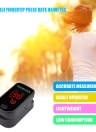 Istant Read Fingertip Pulse Rate Oximeter Portable Blood Oxygen Saturation SpO2 Monitor LED Display