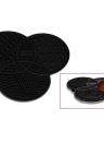 Maquiagem Cosmetica De Silicone Gel De Lavagem Limpeza Mat Foundation Maquiagem Brush Cleaner Pad Scrubber Board