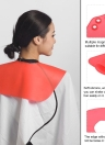 Haircut Neck Cape Wrap Collar Shield Waterproof Silicone Hair Coloring Cuttin Barber Hairdressing