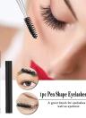 1pc Eyelashes Brush Eyebrow Comb Mascara Wand Pen Shape Eyelash Extension Beauty Cosmetic Makeup Brushes