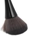 Cepillo de maquillaje de 1 pieza Cepillo de maquillaje en polvo Cosméticos Herramienta Mango de plástico de nylon del pelo