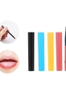 12Pcs Mini Lip Brush Makeup Brush Eyeliner Lipstick Applicators Brushes Cosmetic Brush