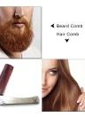 Peigne pliant en acier inoxydable peigne peigne de barbe soins de santé Peigne et peigne de barbe