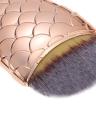 1pc professionnelle sirène Fondation Fard Visage Fond de teint poudre brosse cosmétiques outil de beauté sirène queue