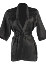 Moobody Женщины Халат Пижамы Халат Robe Sexy атласная Ночное платье платье кружевное белье Большие размера для дам