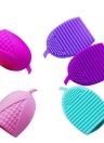 Silicone Corn Shape Makeup Cleaner Cosmetic Cleaning Tool Washing Brush 5 Colors