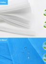 10pcs/bag Spa Disposable Bed Sheets Salon Massage Bed Cover Non-Woven Waterproof Anti-oil 69in X 31.5in Hospital
