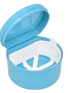 1 Pc Boîte de Prothèse Dentaire Cas Dentaire Faux Dents Boîte de Nettoyage Denture Baignoire Conteneur Retenue Prothèse Titulaire