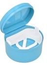 1 Stück Prothese Box Prothese Fall Dental Falsche Zähne Reinigung Box Prothese Bad Container Retainer Prothese Halter