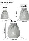 BUBM Waterproof Cosmetic Organizer Toiletry Bag Nylon Bag Makeup Organizer Portable Underwear Storage Bag