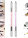 Double-ended Cross Shape Needle Eyebrow Tattoo Pen