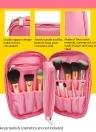 Portable Voyage Maquillage Brosse Sac Cosmétique Sac Organisateur Étanche Grande Capacité Multifonction Cas de Stockage pour Femmes