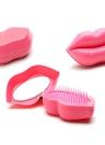 Brosse à cheveux professionnel brosse à cheveux Paddle Detangler brosses à cheveux Massage Lèvres peigne soins