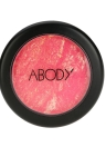 Abody Mixed Colors Face Blusher Powder Palette 3 Colors with Mirror Brush