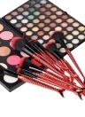 10pcs cepillo de cepillo cosmético cepillo conjunto de maquillaje