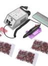 Juego de máquina de taladro de uñas eléctrico Bandas de lijado Juego de cuidado de uñas Juego de cuidados de uñas UE / EE. UU. Plug