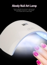 Abody LED UV Lamp Nail Gel Dryer Fingernail Light Nail Art Painting Salon Tool