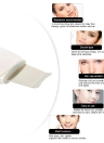 Anself Limpiador acústico ultrasónico de la piel de la cara del poro facial depurador Apriete Terapia Peeling Exfoliante Pala de la espinilla del cuidado de la piel Eliminación del Massager del enchufe de la UE