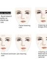 Anself Sonic pele Cleaner Ultrasonic cara Pore purificador Facial Aperte Terapia Peeling Pá Esfoliante Blackhead remoção Cuidados com a pele Massager plug UE