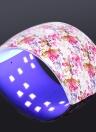36W LED Nail lámpara Uñas UV secador de uñas Polaco lámpara para uñas y uñas de los dedos de gel de curado de luz blanca Nail Art pintura uñas herramienta opcional US / EU / UK / AU Plug
