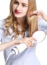 Cepillo Eléctrico para Enderezar el Cabello Negativo Ion Hair Straightener Peine Peinado para el Cabello Peine Temperatura Ajustable