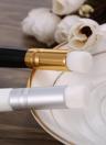 Anself limpieza profunda de la espinilla de la nariz del cepillo del cepillo de lavado de la espinilla del limpiador exfoliante facial de limpieza Cepillos Blanca