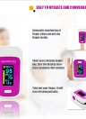 Mini Fingertip Pulse Oximeter Portable Digital OLED Display Heart Rate Meter Blood Oxygen SpO2 PR Monitor Saturation Hemoglobin Tool
