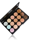 Anself 15 Color Cream Camouflage Concealers Palette Cosmetic Makeup
