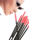 50Pcs Professional One-off Eyelash Brush Set