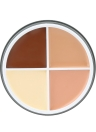 4 Color Face Cover Cream Makeup Concealer