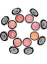 UBUB maquiagem assado blush em pó cor mágica irreal Shimmer