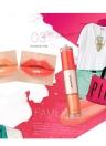 2 en 1 increíble colores impermeable labio brillo vitamina cosméticos lápiz labial para mujeres