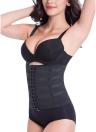 Femmes sexy taille formateur Body Shaper ventre Cincher Underbust contrôle Corset Shaper respirant Shapewear noir/kaki