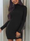 Платье с длинным рукавом с длинным рукавом
