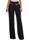 Femmes Casual Zipper Solid PantS