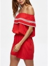 Sexy Spaghetti Strap Off Shoulder Solid Color Women's Rompers