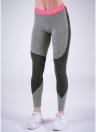 Сексуальные женщины Slim Sport Yoga Color Splice Fitness Leggings